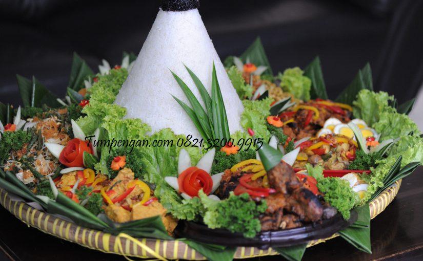 Tumpeng Tasyakuran Nasi Putih Ingkung Ayam Kampung